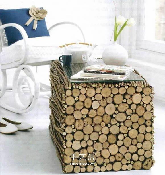 超多木头手工创意让人惊艳图片