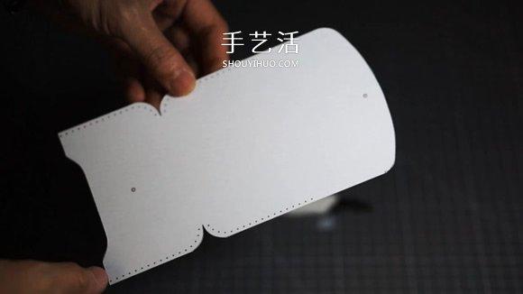 自制简约风格男士皮革名片盒的方法v风格图纸基础知识的图片
