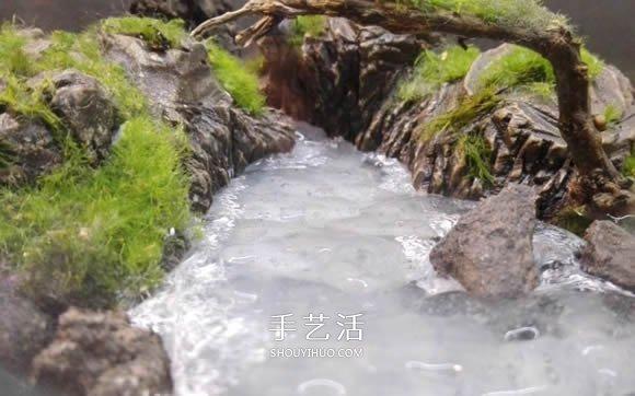 DIY微景观的v景观视频详细教程步骤thorx6操作说明图片