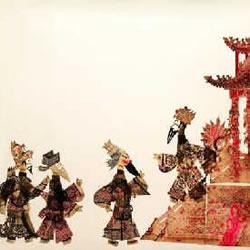 传统皮影戏珍品艺术作品欣赏