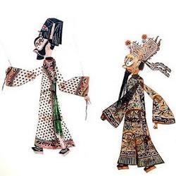 传统皮影艺术介绍及皮影戏作品欣赏