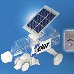 塑料瓶DIY的太阳能玩具车