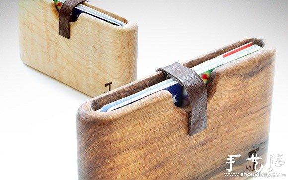 DIY手工制作的木制钱包 -  www.shouyihuo.com