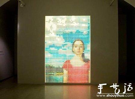 颜料瓶DIY美女 -  www.shouyihuo.com