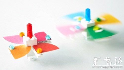 """LEGO bricks and paper""DIY玩具套件"