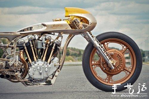 复古摩托车DIY欣赏 -  www.shouyihuo.com