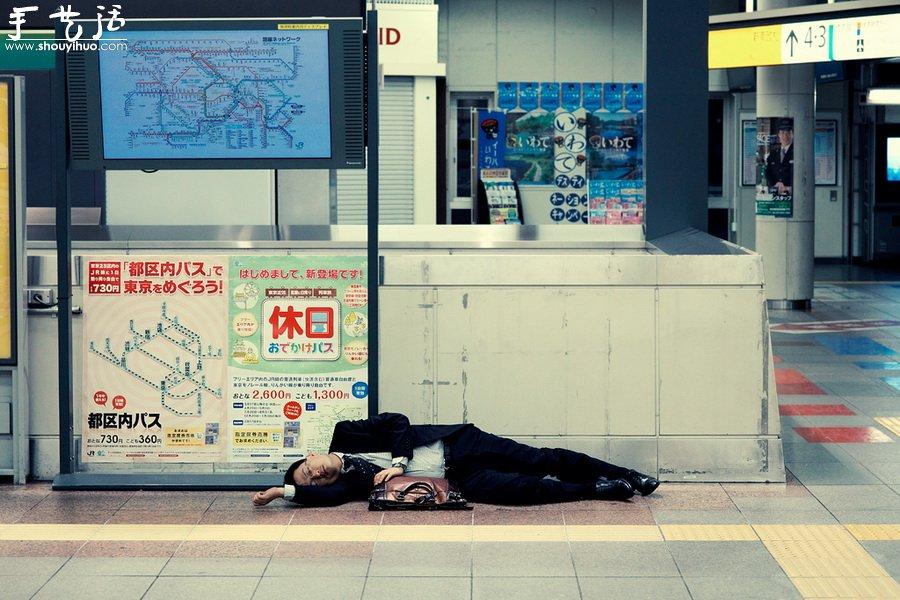 英國攝影師Alex Robertson作品——東京人