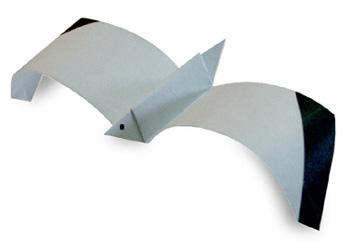 海鷗手工摺紙方法