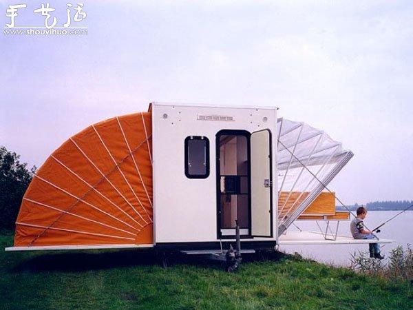 遠行利器雨篷拖車