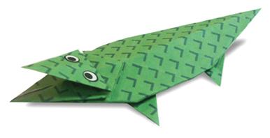 新年手工折纸鱼