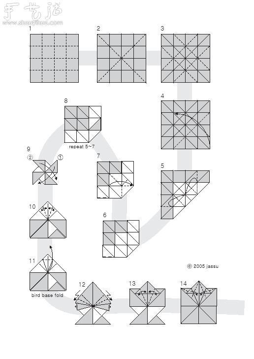手工枫叶折纸