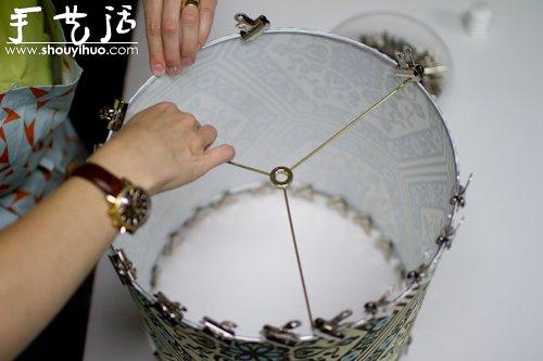 布艺灯罩手工diy教程 4 手艺活网