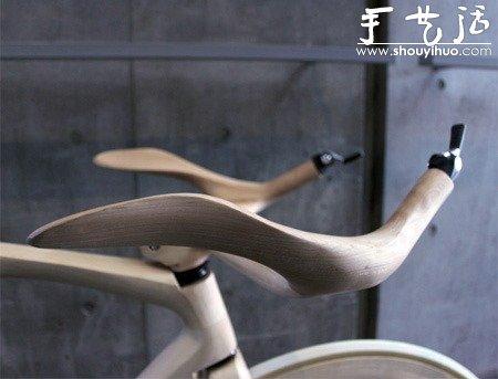 木材DIY雕刻的自行车 -  www.shouyihuo.com
