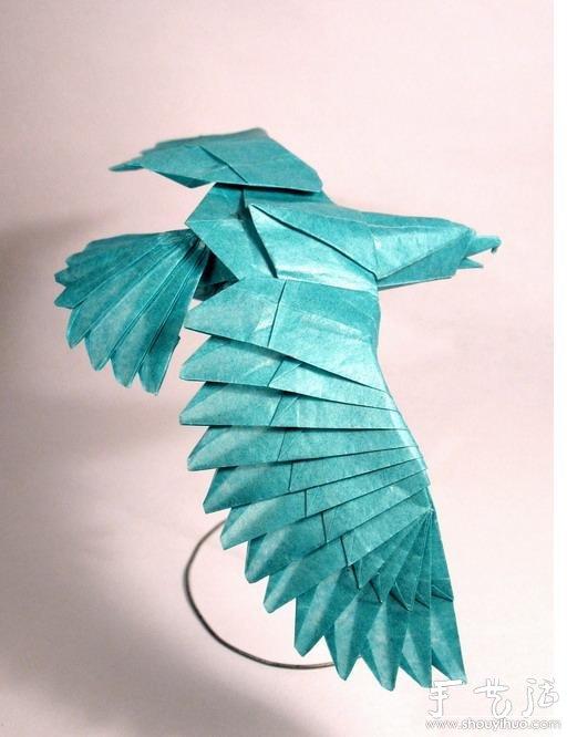 动物身上的花纹_老鹰折纸_手艺活网