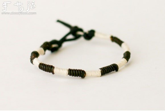 漂亮時尚手鏈手繩的手工製作方法