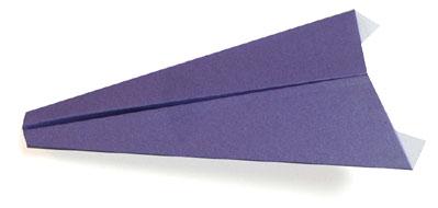 平头纸飞机的折纸方法 -  www.shouyihuo.com