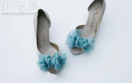 涼鞋蝴蝶結的手工製作方法