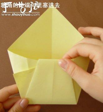 幼儿园手工卡纸鱼_钱包的折纸方法_手艺活网