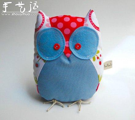 不織布製作可愛卡通布藝玩具