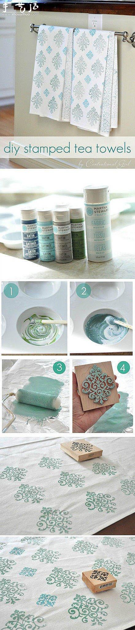 手工布匹印花的方法教程