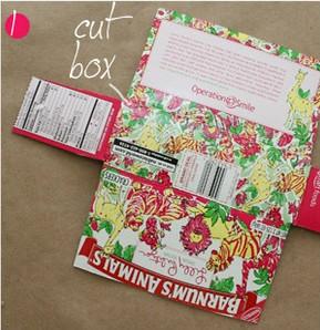 餅乾盒子廢物利用製作時尚手提包的教程