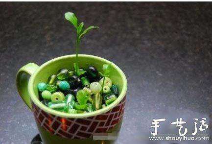 超萌的檸檬盆栽手工DIY