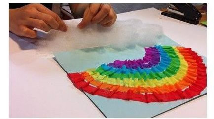 雨後彩虹手工製作教程