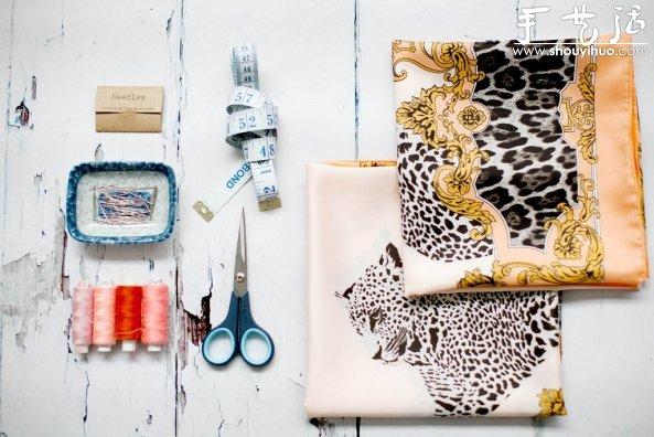 圍巾DIY土耳其風格裙子的手工教程