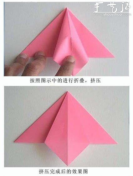 折百合花的步骤视频_漂亮的百合花折纸教程_手艺活网