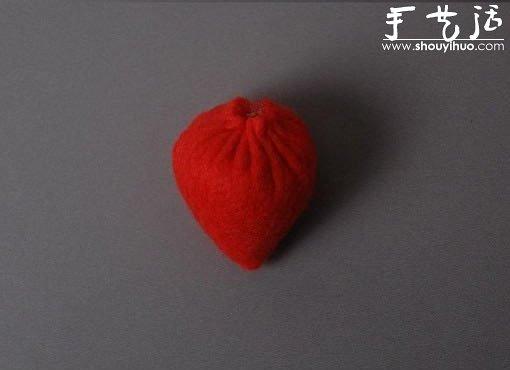 手工布藝DIY製作草莓
