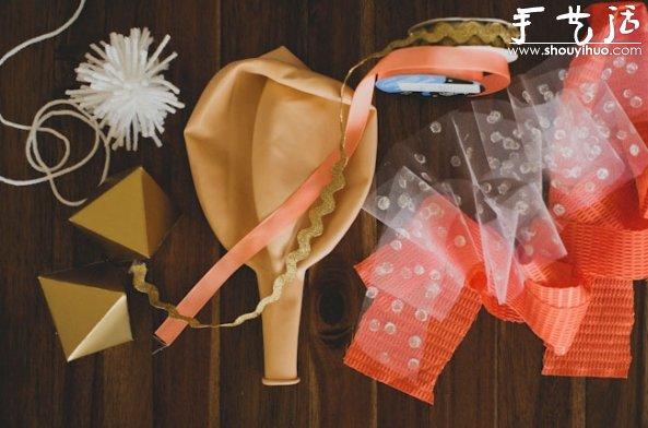 婚禮裝飾氣球的手工DIY