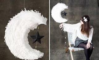 手工製作唯美的月亮掛飾