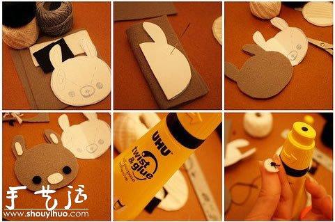 手工布藝DIY可愛小熊飾品的教程