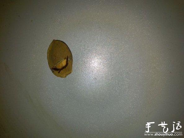 杏仁殼DIY項鏈吊墜的手工教程