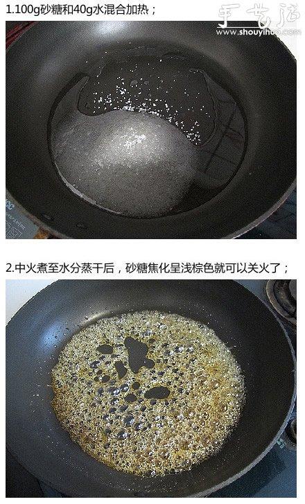 香滑无比焦糖布丁做法,DIY焦糖布丁的方法