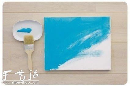 植物图案装饰画创意DIY -www.shouyihuo.com