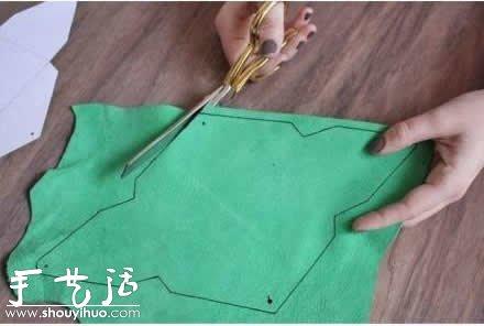 皮革DIY女式零錢包的教程