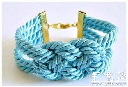 寬幅手鏈編織教程