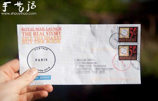 英男子手工DIY假郵票寄信3年未被捉