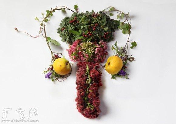 花草DIY的各種人體器官