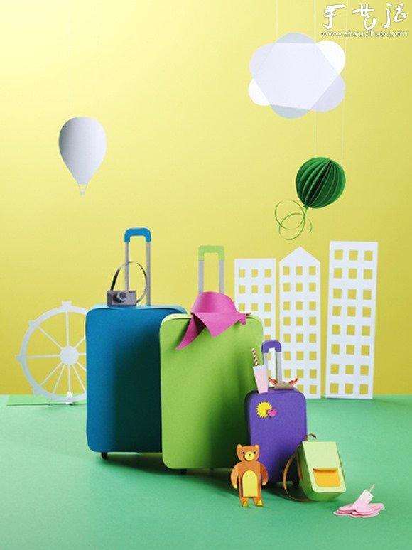 清新可爱的纸模作品欣赏 -  www.shouyihuo.com