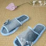 旧牛仔裤DIY女式拖鞋