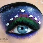 漂亮又妖娆的眼妆作品