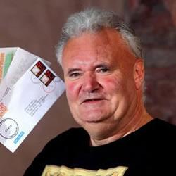 英男子手工DIY假邮票寄信3年未被捉