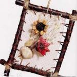 树枝手工DIY装饰画框