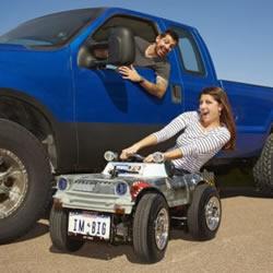 手工帝再现 世界上最小的可上路汽车