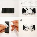手工制作蝴蝶结的方法