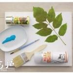 植物图案装饰画创意DIY