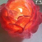 DIY浪漫玫瑰烛台的方法,玫瑰烛台制作方