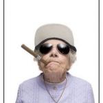 老太太超有趣的萌照